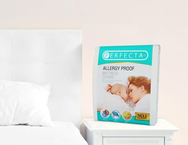 ผ้าปูที่นอนกันไรฝุ่น Perfecta